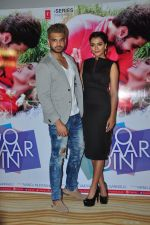 Karan Kundra and Ruhi Singh at Do Char Din film launch in Mumbai on 23rd Aug 2016(104)_57bd46886948b.JPG