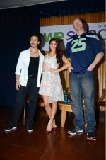 Jacqueline Fernandez, Tiger Shroff, Nathan Jones at The Flying Jatt promotions on 23rd Aug 2016 (308)_57bd52f2a900a.JPG