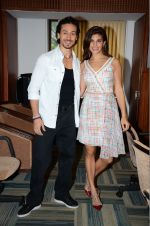 Jacqueline Fernandez, Tiger Shroff at The Flying Jatt promotions on 23rd Aug 2016 (189)_57bd53861b9b2.JPG