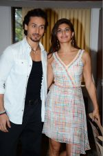 Jacqueline Fernandez, Tiger Shroff at The Flying Jatt promotions on 23rd Aug 2016 (197)_57bd538f21ba8.JPG