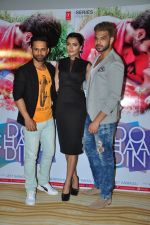 Rahul Vaidya, Karan Kundra and Ruhi Singh at Do Char Din film launch in Mumbai on 23rd Aug 2016(104)_57bd469b3c141.JPG