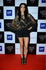 Sarah Jane Dias at Tarun Tahiliani Show at Lakme Fashion Week 2016 on 23rd Aug 2016 (37)_57bd482075cf8.JPG