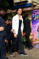 Tiger Shroff at The Flying Jatt promotions on 23rd Aug 2016