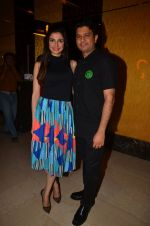 Divya Kumar, Bhushan Kumar at The Flying Jatt premiere on 24th Aug 2016 (54)_57bfefed0dc96.JPG