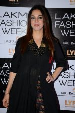 Nauheed Cyrusi at Lakme Fashion Week 2016 Day 2 on 25th Aug 2016
