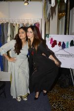 Nauheed Cyrusi snapped at designer Urvee Adhikari stall at Lakme fashion week on 25th Aug 2016 (25)_57bff4f0c9a8e.JPG
