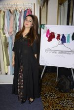 Nauheed Cyrusi snapped at designer Urvee Adhikari stall at Lakme fashion week on 25th Aug 2016 (48)_57bff56011f2d.JPG
