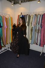 Nauheed Cyrusi snapped at designer Urvee Adhikari stall at Lakme fashion week on 25th Aug 2016 (78)_57bff5c98aa77.JPG