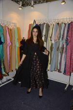Nauheed Cyrusi snapped at designer Urvee Adhikari stall at Lakme fashion week on 25th Aug 2016 (80)_57bff5d29f0de.JPG