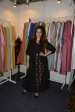 Nauheed Cyrusi snapped at designer Urvee Adhikari stall at Lakme fashion week on 25th Aug 2016 (83)_57bff5de61fde.JPG