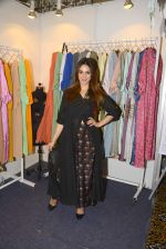 Nauheed Cyrusi snapped at designer Urvee Adhikari stall at Lakme fashion week on 25th Aug 2016 (84)_57bff5e87e214.JPG