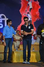 Ranbir Kapoor during the Mumbai City FC Dahi Handi Utsav at Shahaji Raje Bhosle Kreeda Sankul on 25th Aug 2016 (21)_57bff8b5a0e51.JPG