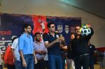 Ranbir Kapoor during the Mumbai City FC Dahi Handi Utsav at Shahaji Raje Bhosle Kreeda Sankul on 25th Aug 2016 (38)_57bff8db76c3a.JPG