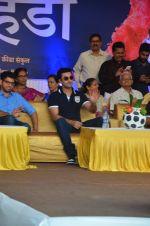 Ranbir Kapoor during the Mumbai City FC Dahi Handi Utsav at Shahaji Raje Bhosle Kreeda Sankul on 25th Aug 2016 (5)_57bff88e5b7d5.JPG