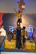 Ranbir Kapoor during the Mumbai City FC Dahi Handi Utsav at Shahaji Raje Bhosle Kreeda Sankul on 25th Aug 2016 (89)_57bff948517dc.JPG