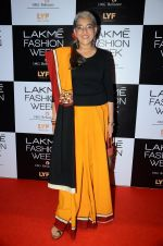 Ratna Pathak Shah at Lakme Fashion Week 2016 Day 2 on 25th Aug 2016