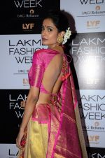 Sarah Jane Dias at Lakme Fashion Week 2016 Day 2 on 25th Aug 2016