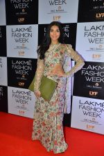 Perina Qureshi at Payal Singhal and Priyadarshini Rao Red Carpet at Lakme Fashion Week 2016 on 26th Aug 2016