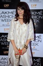 Shaheen Abbas at Payal Singhal and Priyadarshini Rao Red Carpet at Lakme Fashion Week 2016 on 26th Aug 2016
