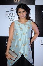 Tanisha Mukherjee at Payal Singhal and Priyadarshini Rao Red Carpet at Lakme Fashion Week 2016 on 26th Aug 2016 (105)_57c1854dc0aeb.JPG