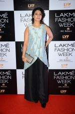 Tanisha Mukherjee at Payal Singhal and Priyadarshini Rao Red Carpet at Lakme Fashion Week 2016 on 26th Aug 2016 (106)_57c1853e5c771.JPG
