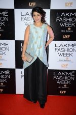 Tanisha Mukherjee at Payal Singhal and Priyadarshini Rao Red Carpet at Lakme Fashion Week 2016 on 26th Aug 2016 (110)_57c18547b0585.JPG