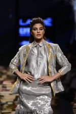 Jacqueline Fernandez walk the ramp for Rajesh Pratap Singh Show at Lakme Fashion Week 2016 on 27th Aug 2016 (32)_57c2db601c8e6.JPG