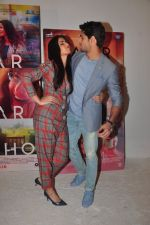 Katrina Kaif, Sidharth Malhotra promote Bar Bar Dekho in Mumbai on 27th Aug 2016 (7)_57c2c66638509.JPG