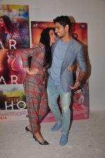 Katrina Kaif, Sidharth Malhotra promote Bar Bar Dekho in Mumbai on 27th Aug 2016 (9)_57c2c6678e49a.JPG