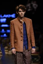 Model walk the ramp for Rajesh Pratap Singh Show at Lakme Fashion Week 2016 on 27th Aug 2016 (216)_57c2dcf7581b3.JPG