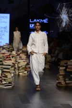 Model walk the ramp for Rajesh Pratap Singh Show at Lakme Fashion Week 2016 on 27th Aug 2016 (475)_57c2df1b988a3.JPG