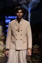 Model walk the ramp for Rajesh Pratap Singh Show at Lakme Fashion Week 2016 on 27th Aug 2016 (399)_57c2de8d3b416.JPG