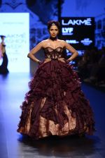Model walk the ramp for Shantanu and Nikhil Show at Lakme Fashion Week 2016 on 27th Aug 2016 (1443)_57c2d3f5b8014.JPG
