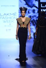 Model walk the ramp for Shantanu and Nikhil Show at Lakme Fashion Week 2016 on 27th Aug 2016 (1517)_57c2d4a5cb367.JPG