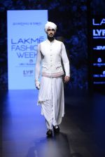 Model walk the ramp for Shantanu and Nikhil Show at Lakme Fashion Week 2016 on 27th Aug 2016 (1788)_57c2d680d9666.JPG