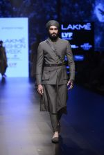 Model walk the ramp for Shantanu and Nikhil Show at Lakme Fashion Week 2016 on 27th Aug 2016 (1809)_57c2d6a215616.JPG