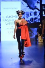Model walk the ramp for Shantanu and Nikhil Show at Lakme Fashion Week 2016 on 27th Aug 2016 (1541)_57c2d5041ebd4.JPG