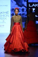 Model walk the ramp for Shantanu and Nikhil Show at Lakme Fashion Week 2016 on 27th Aug 2016 (1573)_57c2d55e6320b.JPG
