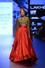 Model walk the ramp for Shantanu and Nikhil Show at Lakme Fashion Week 2016 on 27th Aug 2016 (1577)_57c2d566cfde6.JPG