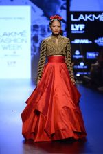 Model walk the ramp for Shantanu and Nikhil Show at Lakme Fashion Week 2016 on 27th Aug 2016 (1578)_57c2d56961ba1.JPG
