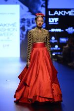 Model walk the ramp for Shantanu and Nikhil Show at Lakme Fashion Week 2016 on 27th Aug 2016 (1579)_57c2d56b604f5.JPG
