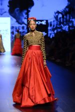 Model walk the ramp for Shantanu and Nikhil Show at Lakme Fashion Week 2016 on 27th Aug 2016 (1584)_57c2d57acaa4d.JPG