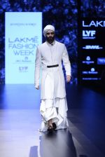 Model walk the ramp for Shantanu and Nikhil Show at Lakme Fashion Week 2016 on 27th Aug 2016 (1711)_57c2d5e456345.JPG