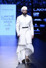 Model walk the ramp for Shantanu and Nikhil Show at Lakme Fashion Week 2016 on 27th Aug 2016 (1712)_57c2d5e5f3260.JPG