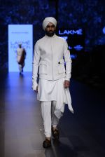 Model walk the ramp for Shantanu and Nikhil Show at Lakme Fashion Week 2016 on 27th Aug 2016 (1765)_57c2d654a37fa.JPG
