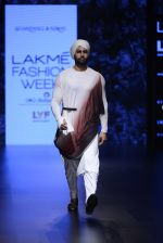 Model walk the ramp for Shantanu and Nikhil Show at Lakme Fashion Week 2016 on 27th Aug 2016 (1772)_57c2d66258fac.JPG