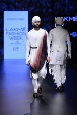 Model walk the ramp for Shantanu and Nikhil Show at Lakme Fashion Week 2016 on 27th Aug 2016 (1773)_57c2d664475c0.JPG