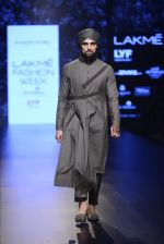 Model walk the ramp for Shantanu and Nikhil Show at Lakme Fashion Week 2016 on 27th Aug 2016 (1822)_57c2d6b5ed363.JPG