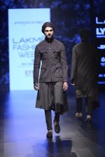 Model walk the ramp for Shantanu and Nikhil Show at Lakme Fashion Week 2016 on 27th Aug 2016 (1830)_57c2d6c0b6893.JPG