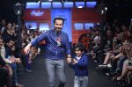 Emraan Hashmi walk the ramp for The Hamleys Show styled by Diesel Show at Lakme Fashion Week 2016 on 28th Aug 2016 (502)_57c3c6eb14385.JPG